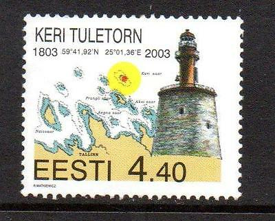 Estonia Mnh 2003 Sg437 Keri Lighthouse