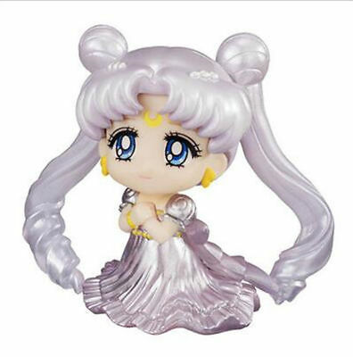 Tsukino Usagi Sailor Moon Princess Serenity Wedding Dress Silver 5.5cm Figuren N
