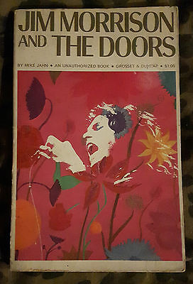 The Doors - Original Biography Book by Mike Jahn, Published in 1969, Rare