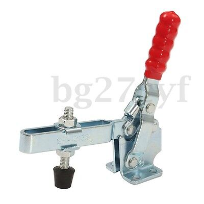 3PCS LOT 227KG Holding Capacity Quick Release Vertical Type 12132 Toggle Clamp
