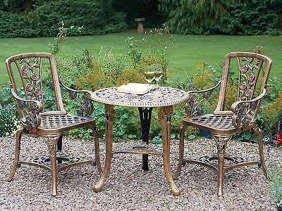 Garden Patio Set Bistro Table and Chairs Garden Furniture Outdoor Vintage