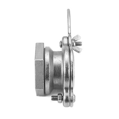 4cm Honey Gate Tap Valve 304 Stainless Steel with Gasket