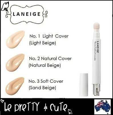 LANEIGE WATERY CUSHION CONCEALER 2.5ml Moisturizing and high-coverage cushion