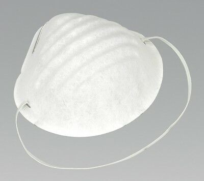 Sealey Disposable Comfort Dust Cup Mask Pack of 50 SSP15D
