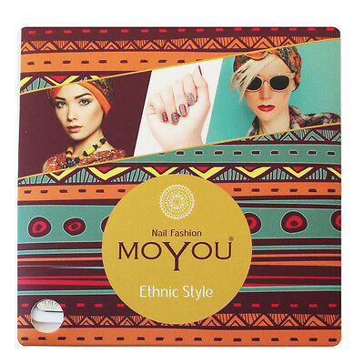 MoYou Nail Fashion ETHNIC nail art Stamping Plates, 16 plates to choose from