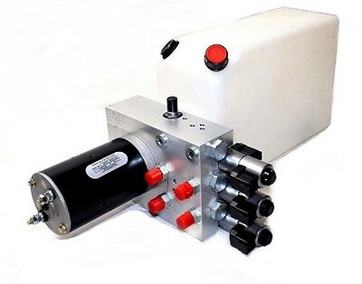 Hydac 02680421 HHD 16/16 Valve Cluster Manifold MZF-4001A 12V with Reservoir New