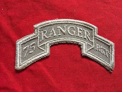 US Army 75th Ranger Regiment Tab desert OIF OEF