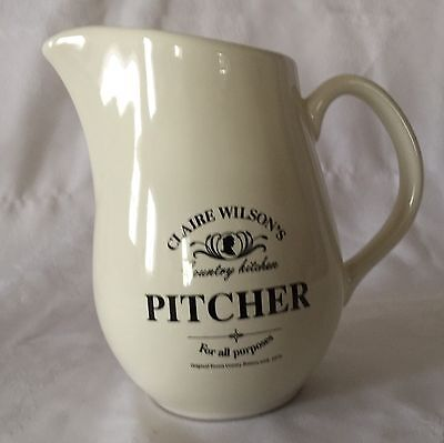 "Clair Wilson's Country Kitchen Pitcher ""For all Purpose"""