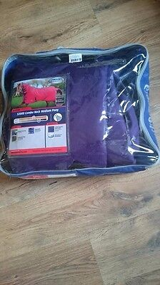 Weatherbeeta Combo Purple 1200d Genero Medium 4ft3in Pony Shetland Turnout Rug
