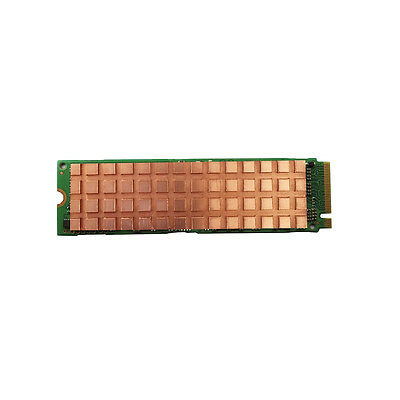 4mm M.2 NGFF NVMe 2280 SSD Copper Heat Sink Thermal Pad Passive Cooling Plate