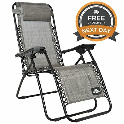Trespass Glenesk Folding Reclining Chair Camping Seat Free Next Day Delivery