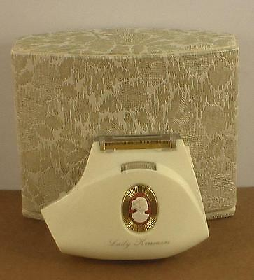 Vintage Lady Kenmore Electric Shaver in Case Model No 820-9395 Very Nice