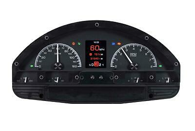 Dakota Digital 1956 Ford Pickup Truck Analog Gauges Black Alloy HDX-56F-PU-K
