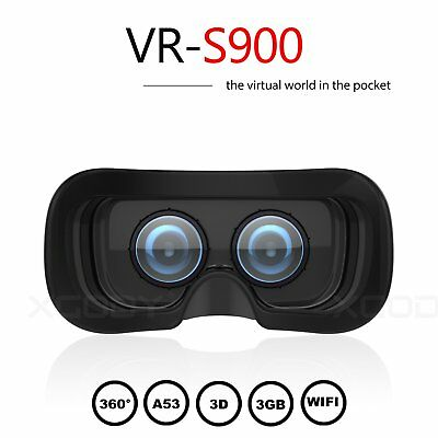 AMOLED 2K Display All-in-one 3D Virtual Reality VR Glasses Headset Bluetooth 16G