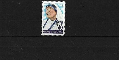Cyprus Sg1035, 2002 Mother Teresa, Mnh