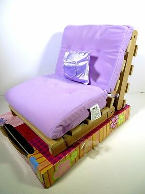 Nib Doll Furniture Our Generation Boutique Futon Fits American Girl Doll
