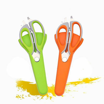 9 Multi Function Professional Poultry Scissors Stainless Steel Kitchen Shears