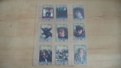 Harry Potter and the Goblet of Fire - 53 Cards RARE Calendar & Series One Movie