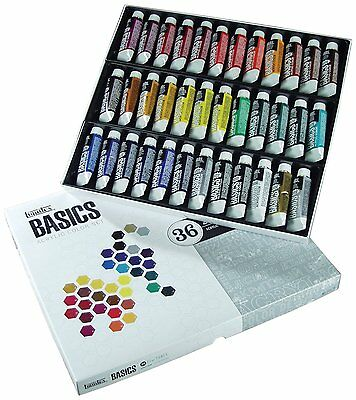 Liquitex Basics Acrylic Paint 36 x 22ml Set
