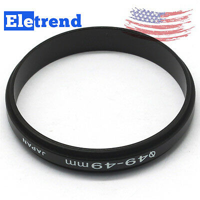 2PC Stock 49-49mm Male to Male Coupling Macro Reverse Ring Adapter 49mm to 49mm