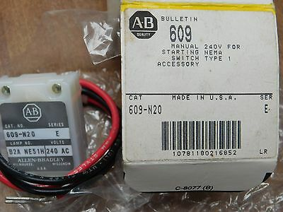 NEW IN BOX ALLEN BRADLEY 595-AA SER B AUXILIARY CONTACT 2 N.O. size 0-4