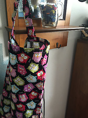 NURSING COVER  hider* BREASTFEEDING COVER Up OWLS COLORFUL ZZZZ