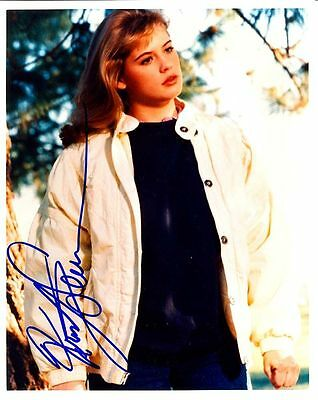 Kristy Swanson Autographed Signed 8X10 Early Photo With Coa