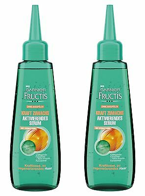 New Original! Stemoxydine Neogenic Hair Loss 2x Pack Garnier Fructis Grow Strong