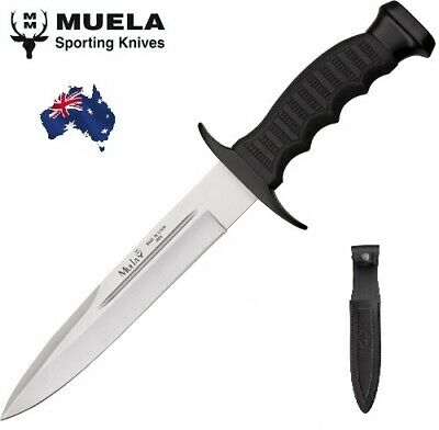 Muela Fixed Blade Hunting Knife Pig Sticker - Made In Spain! Outdoors Camping