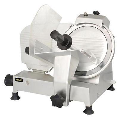 Meat Slicer, Anodized Aluminium Body, Commercial Quality, 250mm Blade