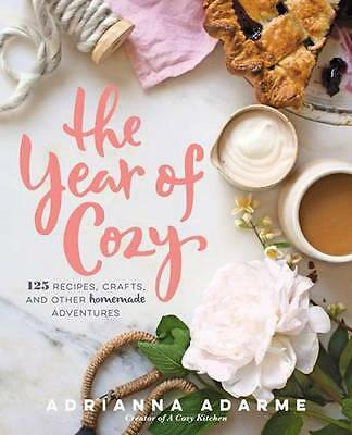 NEW The Year of Cozy By Adrianna Adarme Hardcover Free Shipping