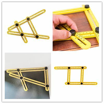 Pro Measuring Instrument template tool four-sided ruler mechanism FY