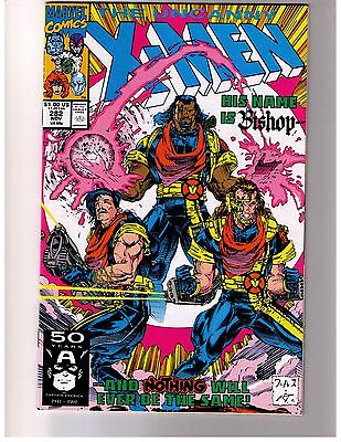 Uncanny X-Men # 282 (NM-) Marvel Vol. 1 Nov 91 1st Appearance Bishop