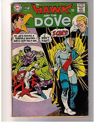 Hawk and the Dove 1 - 6 Vol. 1 Complete Set  (1968) VG to VG/FN DC