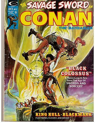 Savage Sword of Conan 2 (1974) VG Curtis Magazine