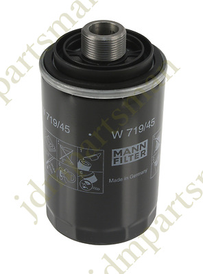 NEW Oil Filter Spin-On OEM Mann W719/45 for Audi A3 A4 Q5 VW Eos Jetta Beetle