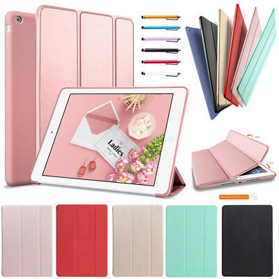 For iPad 9.7 2018 2017 Mini Air Pro Magnetic Ultra Slim Smart Leather Stand Case