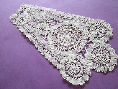 Antique/Vintage handmade Jabot from Brussel ,very nice for dolls,made in Belguim