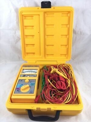 TopTronic T2075 Earth Resistance Tester Measurement Voltage 2mA 0~30V AC 1.5V