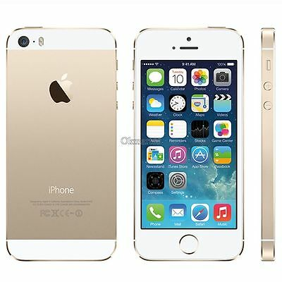 """Apple iPhone 5S 64GB GSM """"Factory Unlocked"""" GSM Space Gray Silver Smartphone a3"""
