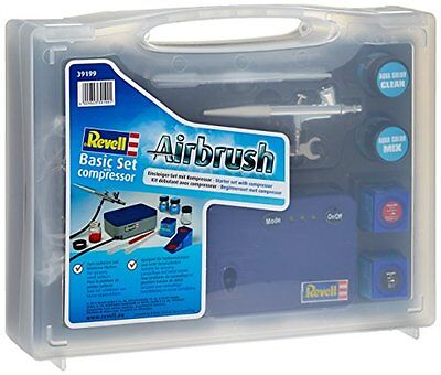 GUT: 39199 - Revell Airbrush - Basic Set mit Kompressor (Neuversion 2011)