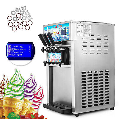 NEU Eiscreme-Maschinen Frozen Soft  Ice Cream Cones Machine Speiseeismaschine
