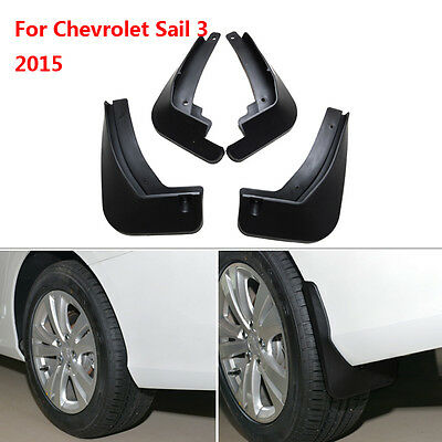 For Chevrolet Sail 3 2015 ABS Mud Flaps Splash Guards Fender Mudguard 4pcs/set