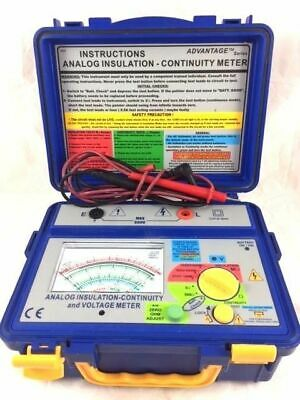 SEW 4132IN Analog Insulation Continuity & Voltage Meter Tester 250V 500V 1000V