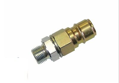 "Pressure Washer 3/8"" B.S.P Male To 19.5MM Male Heavy Duty Quick Release"