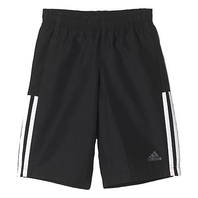 adidas Essential tissé Junior Enfants Short Bermuda Noir/ Gris