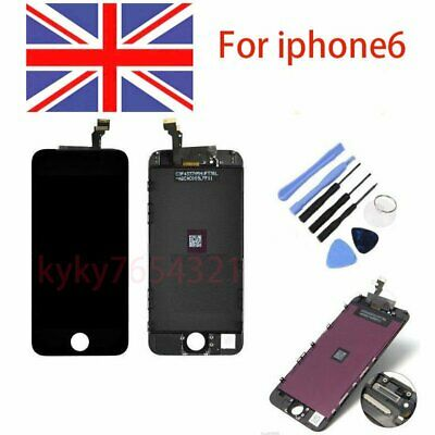 LCD Touch Screen Display Digitizer Assembly Replacement For Black iPhone 6