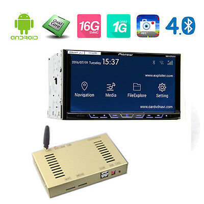 Quad core Pioneer Android 4.4 GPS navigation Add-on