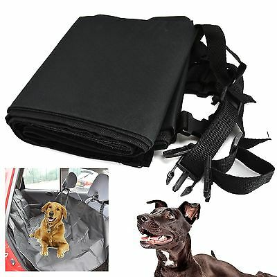 Universal Car Seat Cover Pet Protector Heavy Duty Water Resistant Rear Back Seat