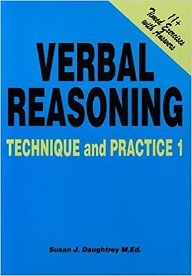 Verbal Reasoning Technique and Practice: 1 by Susan Daughtrey